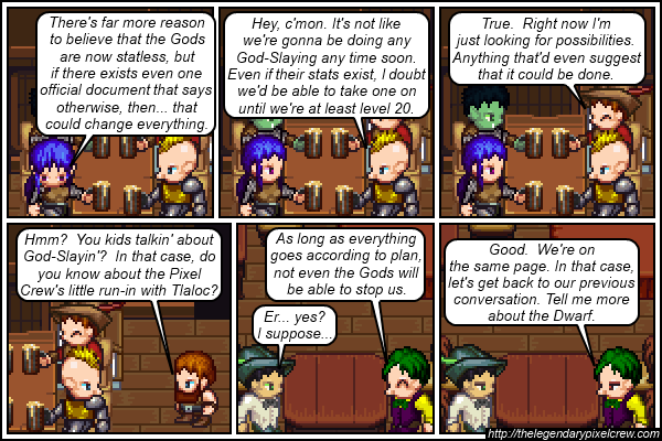 "Strip 215 - ""Clues within the past"""