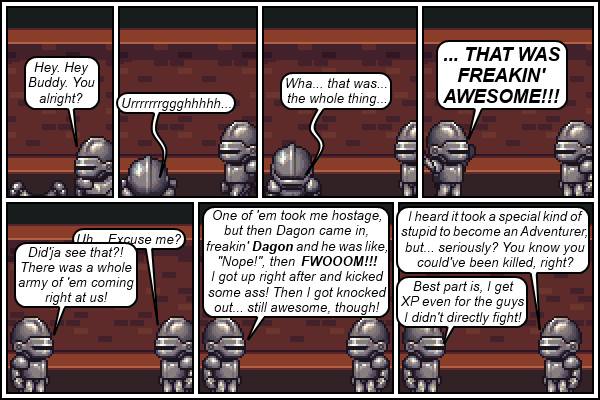 "Strip 231 - ""How much XP did he get?"""